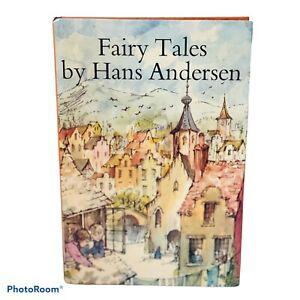 Hans Christian Andersen's Fairy Tales Vintage Book Blackie & Son 1970