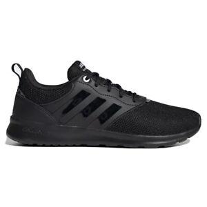 Adidas QT Racer Sport 2.0 Women's Athletic Shoe Running Sneaker Black Trainers
