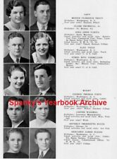 1934 Washington DC Central High School Yearbook~Photos~History~Baseball~Cartoons
