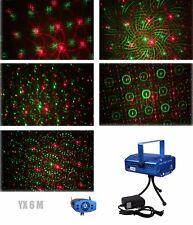 6 in 1 LED Laser Bühnenlicht  Disco Party Lichteffekt Licht Lampe Projektor GX6M