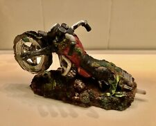 Aquarium decor Lot~Harley motorcycle Bubbler~Man Cave~Skull Octopus Treasure