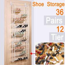 Zapatero Organizador Zapatos Colgante 36Pares Estanteria Detras Puerta Shoe Rack