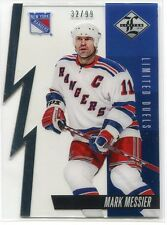 2012-13 Limited Duels Silver 22b Mark Messier 32/99