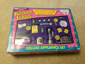 vintage Tyco Kitchen Littles Deluxe Applicance Set #2028 Brand New Sealed - R224