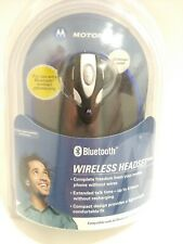 Motorola Hs820 Bluetooth Wireless Headset With Charger *New In Package*