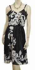 NWT WHITE HOUSE BLACK MARKET LILY FLOWER BLOUSON DRESS 00