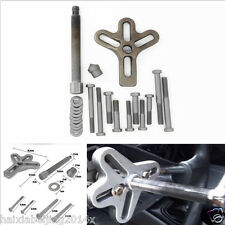 Car Harmonic Balancer Steering Wheel Puller Gear Crank Shaft Damper Tool 23x Kit