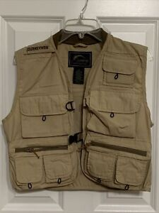 Journeyman Fly Vest.  Brown, Pockets, Youth Size Small