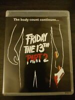 FRIDAY THE 13TH PART 2 BLU-RAY SCREAM FACTORY EXCLUSIVE 4K SCAN DELUXE EDITION