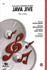 Ben Oakland Java Jive SATB Vocal Choral Learn Sing Play Piano Music Book