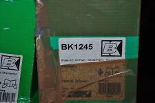 kit frein arrière trw:bk1245, peugeot 205, 306, 309 ; 180x30