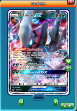 Darkrai GX Regular Art 88/147 Pokemon TCG Online (Digital card) PTCGO