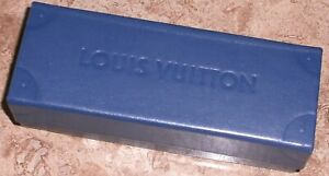Louis Vuitton Blue Leather Sunglass Case