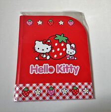 Vintage Sanrio Hello Kitty Strawberry Stationary Letter Set NEW