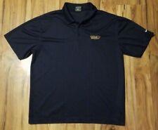 Louisville Riverbats MiLB Nike Golf Dri-Fit XL Polo Shirt Louisville Bats Blue