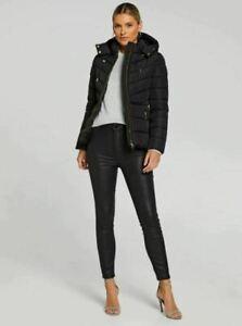 NEW Portmans Jessica Puffer Jacket BLACK 100%GENUINE- FREEPOSTAGE