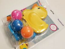 Munchkin DuckDunk Bathtime Basketball - Duck with 3 squirting balls Bath Toy