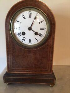 Vintage Mahogany Mantle Clock