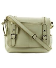 Relic Bleeker Messenger Women Faux Leather Messenger New with Tags True White