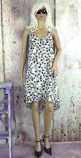Knielange H&M Damenkleider mit asymmetrischem Stil