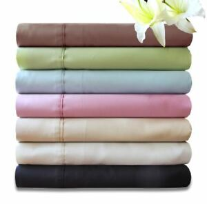 """MILDTOUCH"" Bamboo Cotton 400 T/C Sheet Set (7 Colours) Super Sizes Available"