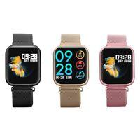 Smartwatch P80 Bluetooth Pulsuhr IP68 Wasserdicht 2.5D IPS Display Sporttracker