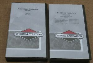 Briggs & Stratton Theories of Operation 1 & 2 VHS Tapes