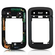 NEW  BLACK MIDDLE FRAME FOR BLACKBERRY BOLD 9900 9930 CHASSIS/HOUSING