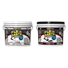 FLEX SEAL Flex Paste WHITE BLACK Super Thick Rubber  JUMBO 6 LB