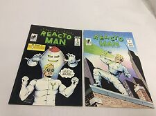 Reacto Man #1,3 ( B-Movie Comics/1114263) COMIC BOOK SET LOT OF 2