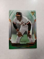 2019 Topps Triple Threads #d/259 Willie McCovey Emerald Parallel Giants