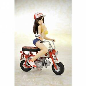 Honda Singe Z50M EBBRO 1/10 Avec Vélo Fille Figurine Poupée Rare