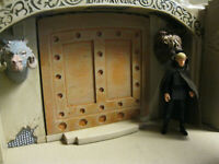 Star Wars Award Winning Custom Big Jabba Palace Door Diorama Part Free Shipping