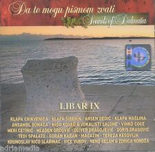 Libar IX sons of Dalmatia CD car te MOGU pismom zvati Klapa Croatie Croatia