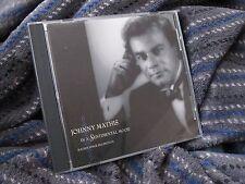 "JOHNNY MATHIS CD ""IN A SENTIMENTAL MOOD"" ""MATHIS SINGS ELLINGTON"""