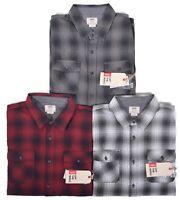 Vans Men's Flannel Monterey Pocket Front Button Up Shirt Choose Color & Size