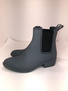 Jeffrey Campbell Size 9 Clima Gray Rainboots GREY
