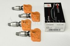 New Huf UVS4040 433 mhz TPMS Set Fits 2009 2010 2011 2012 2013 Dodge Challenger