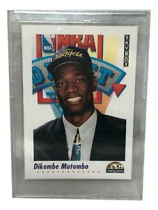 1991-92 Skybox #516 Dikembe Mutombo RC Rookie MINT Draft #4