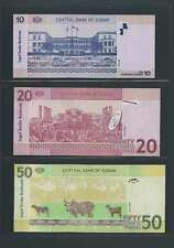 Afrique Ancien Mali Soudan Lot de 3 billets différents  en état NEUF   Lot N° 3