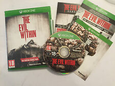 XBOX ONE XB1 GAME THE EVIL WITHIN COMPLETE DISC IS IN EXCELLENT CONDITION