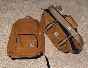 Carhartt Backpack & Duffle Bag Set