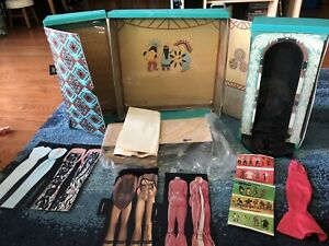 Mego Cher Dressing Room 1976 complete? some pieces never removed from package