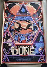 Mondo Jodorowsky's Dune Kilian Eng Poster x/290 Extremely Rare *IN HAND*