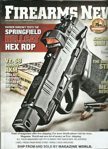 FIREARMS NEWS MAGAZINE,  APRIL, 2021   ISSUE,  # 08    DISPLAY  MAY, 10th 2021