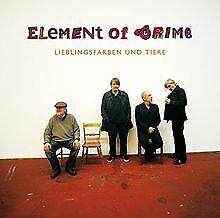 Lieblingsfarben und Tiere von Element of Crime | CD | Zustand gut