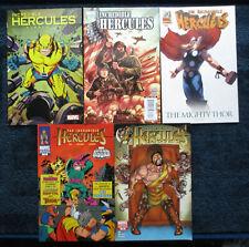 5 Issue COMIC Lot: INCREDIBLE HERCULES #128, 131, 132, 135, 136 / VARIANTS 2009