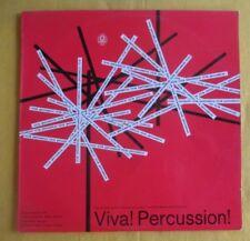 Bobby Montez & Orchestra Lp-  Viva! Percussion!
