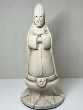 Vintage Studio Cerámica obispo muy grandes Pieza De Ajedrez Firmado R. Shipman con fecha