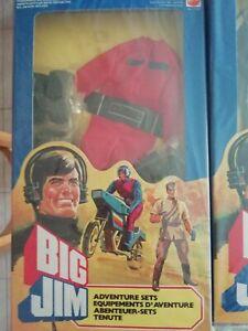 Mattel-Abito Big Jim 7150-Pilota Veicolo d'Assalto,1983, nuovo mai aperto